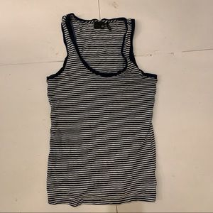 AG Jeans Ribbed Striped Tank